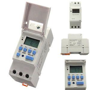 pour /équipement /électrique domestique pour lumi/ères relais de commutation de temps de micro-ordinateur 16A m/écanique 24 heures Interrupteurs horaires num/ériques hebdomadaires 250VAC