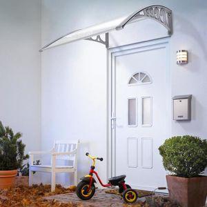 MARQUISE - AUVENT keisha 100*60CM Auvent pour porte Marquise huisser