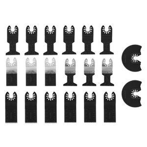 M/étal tendre Bois R/épondre /à Diff/érents Besoins de Coupe et de Meulage pour Bricolage Plastique 68 Pi/èces pour Coupe de Mat/ériaux Divers Lames de Scie Oscillante Outils