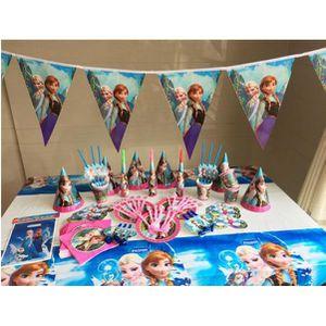 KIT DE DECORATION Kit de fête /anniversaire la reine des neige ice s