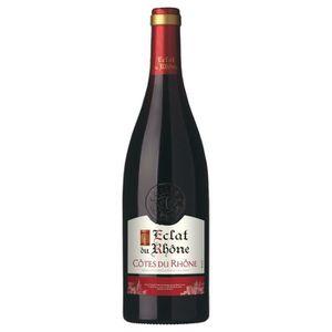 VIN ROUGE Eclat du Rhône Côtes du Rhône -Vin rouge de la Val