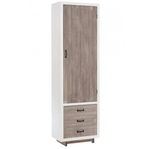 Meuble campagne chic achat vente meuble campagne chic pas cher cdiscount - Armoire grise pas cher ...