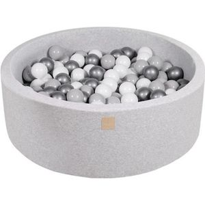 PISCINE À BALLES MeowBaby 90X30cm-200 Balles ∅ 7Cm Piscine À Balles