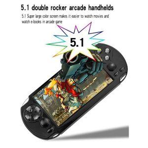 CONSOLE PSP X9-II Double Commande à bascule 8 Go 5.1 Pouces éc
