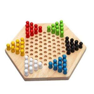LIVRE CUISINE TRADI Hexagon traditionnelle en bois chinois famille Che