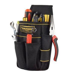 Outil Sling Pack Sac d/'épaule électriciens Tissu Oxford poches 5 outils Boucles
