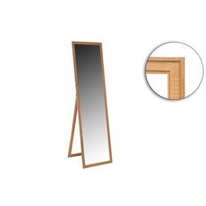 MIROIR Miroir psyché 30 x 120 x 2 cm - MDF - Décor Bois n
