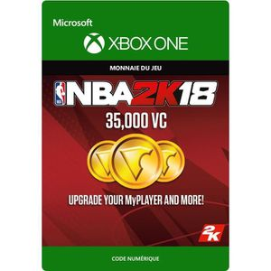 EXTENSION - CODE DLC NBA 2K18: 35 000 VC pour Xbox One