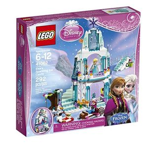 ASSEMBLAGE CONSTRUCTION Jeu D'Assemblage LEGO RXK09 Disney Princess Elsa's
