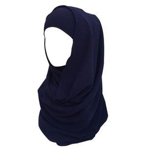 ECHARPE - FOULARD Hijab pour Femmes Foulard Écharpe Turban Châle Isl