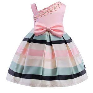 ROBE Robe de fille Enfants Vêtements Robe de soirée fil