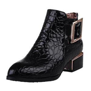 Boots femme noir Boots femme cuir odCBreWx