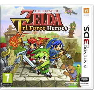 JEU 3DS The Legend of Zelda Tri Force Heroes Jeu 3DS