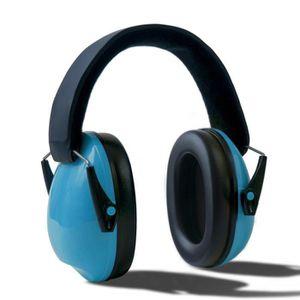KIT ANTI ENDORMISSEMENT Cache oreilles d'enfants bleu Protège-oreilles rég