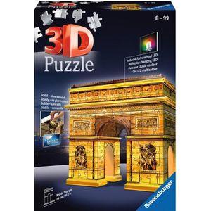 PUZZLE RAVENSBURGER Puzzle 3D Arc de Triomphe Night Editi