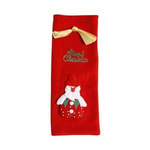 Emoji Noël Stocking Fête Fourre-tout Sac cadeau de NOEL faveur faveur Smiley émoticônes