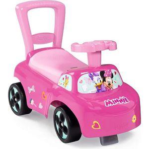 PORTEUR - POUSSEUR MINNIE - Smoby - Porteur Enfant Auto