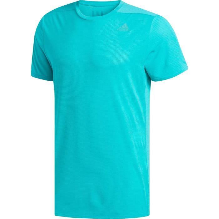 ADIDAS T-shirt de running Supernova - Homme - Bleu