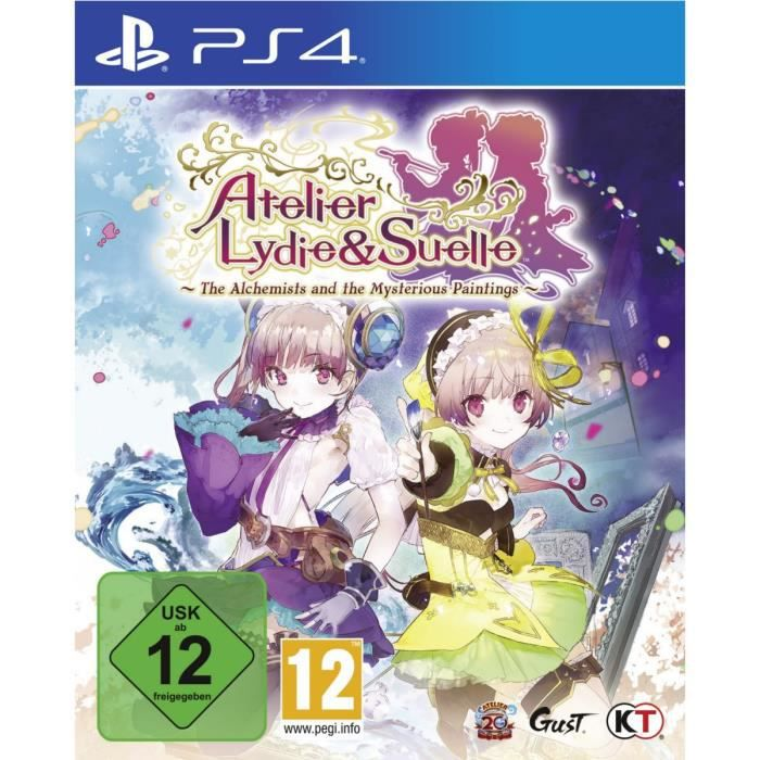 Atelier Lydie et Suelle: The Alchemists and the mysterious paintings Jeu PS4