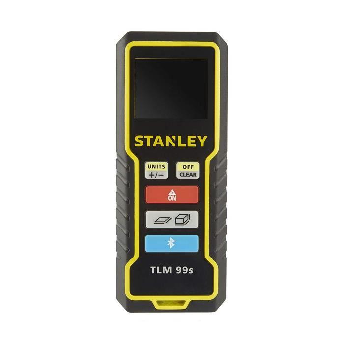 Stanley STHT1-77343 Telemetre 99s mesure à distance 30m, Multicolore