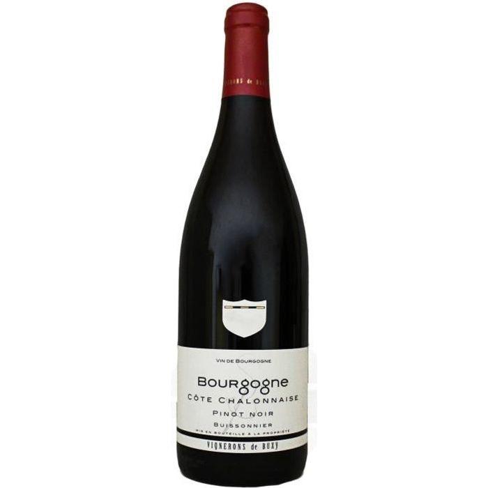 Bourgogne, Côte Chalonnaise, Pinot Noir, Vignerons de Buxy (Bourgogne), 2019 - Vin Rouge