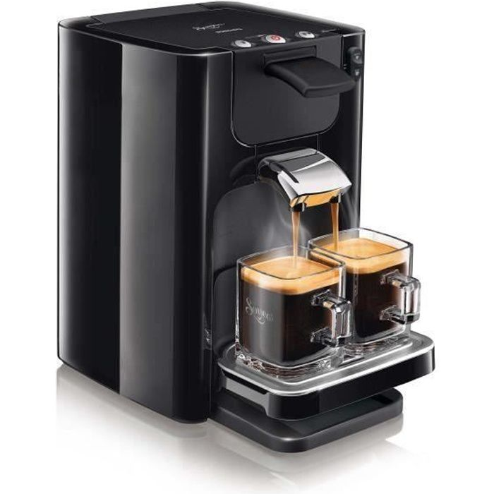 PHILIPS HD7866-61 Machine à café à dosettes Senseo Quadrante - Noir intense