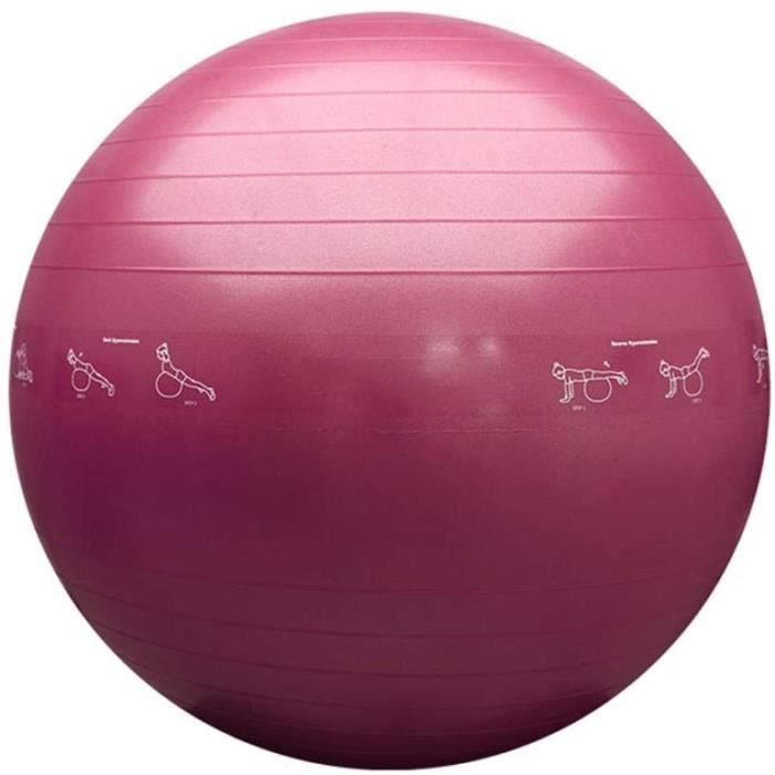 GYM BALL LY Gym BallThickening Fitness Ball 55cm65cm75cmfor Office Home Gym1503