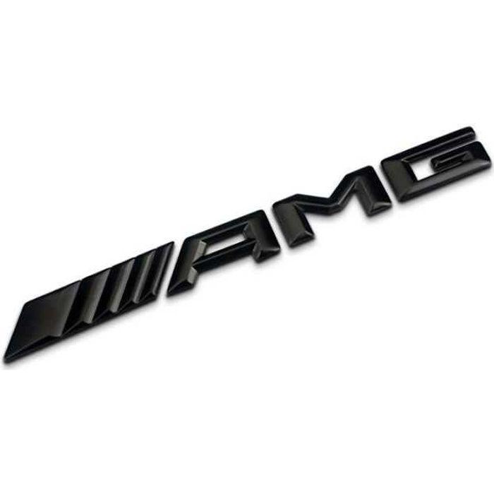 1pcs pour AMG logo haut de gamme Sticker de corps en métal haut de gamme Décoration extérieure Automobile Emblem Badge Badge Décalqu