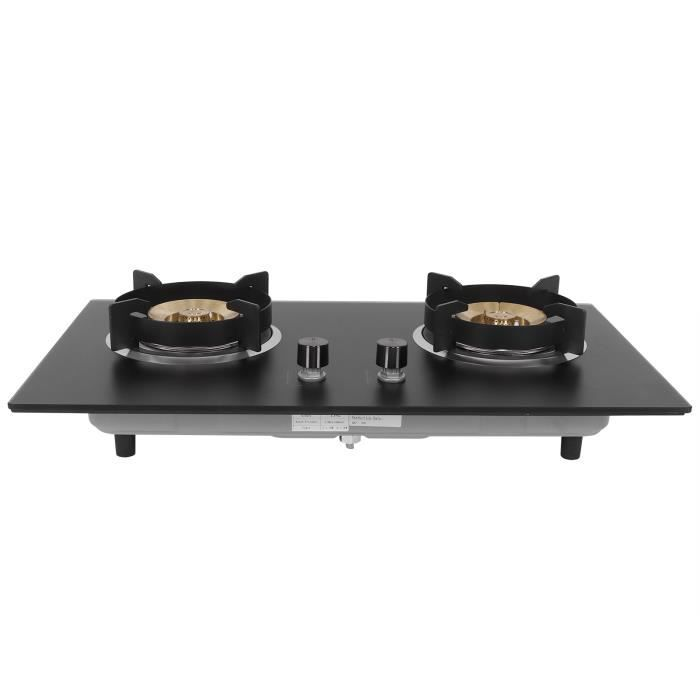 Ménage Commercial 2 brûleur cuisinière à gaz liquéfié cuisinière cuisine cuisson