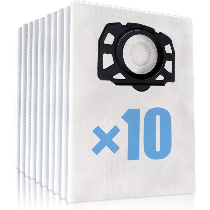 ChangM 10 Sac/Sacs Filtre d'Aspirateurde pour Serie wd6 - Karcher WD 6 P Premium, mipuu 2.863-006.0 2.863-006.0
