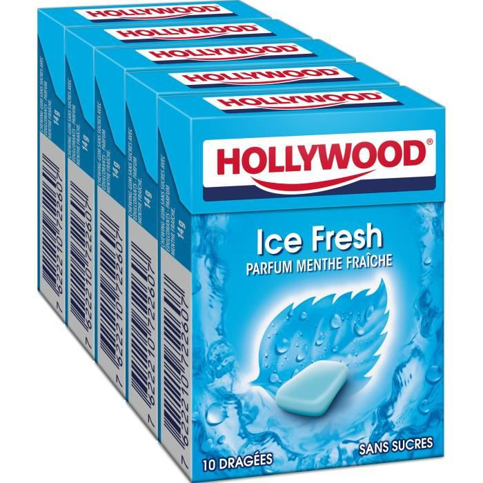 Hollywood IceFresh chewing-gum sans sucres 70g