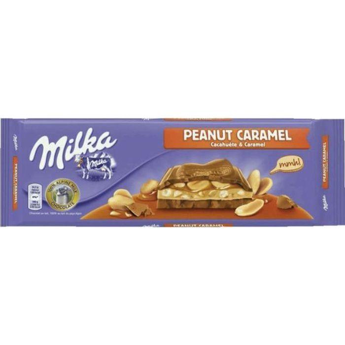MILKA Chocolat cacahuète caramel - 276 g