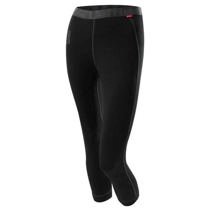 Vêtements femme Sous vêtements techniques pantalons Loeffler 3-4 Transtex Merino Pants