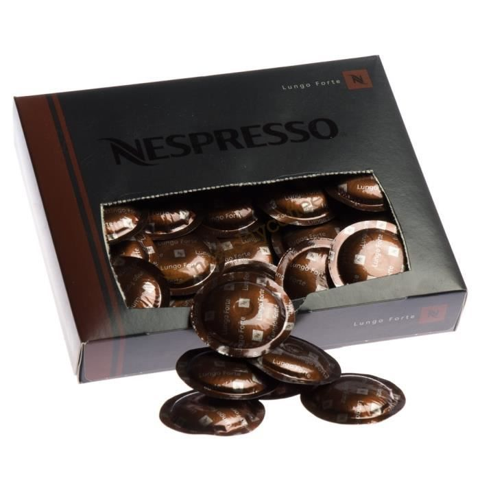 Nespresso Lungo Forte - 50 Capsules Gamme Professionnelle