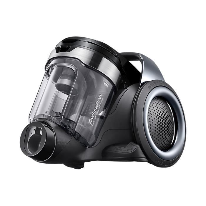 Samsung VC04K71G0HC, 360 W, A++, 16 kWh, Aspirateur réservoir cylindrique, Sans sac, 0,9 L