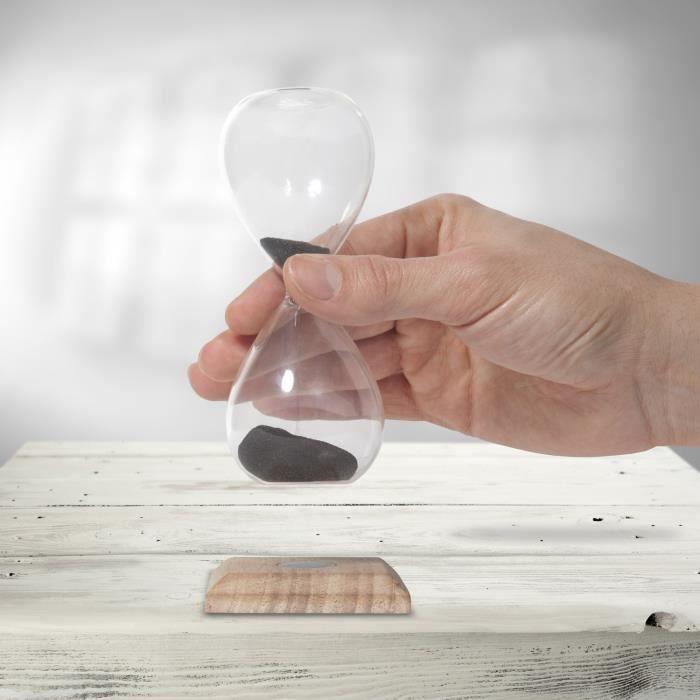 THUMBSUP! Sablier magnétique en verre