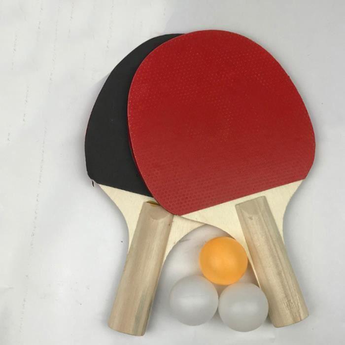 1 ensemble Professionnel Ping-Pong Raquette Ensemble pour Sport Débutant RAQUETTE DE TENNIS DE TABLE - CADRE DE TENNIS DE TABLE