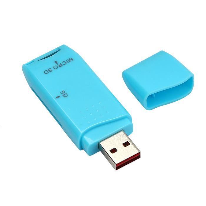 LECT. INTERNE DE CARTE MINI USB 2.0 Micro SD - SDXC adaptateur de lecteur