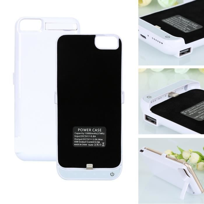 coque iphone 7 batterie 10000
