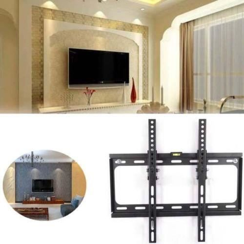 lcd led plasma tv support de montage mural ultra plat pour t l vision support de suspension. Black Bedroom Furniture Sets. Home Design Ideas