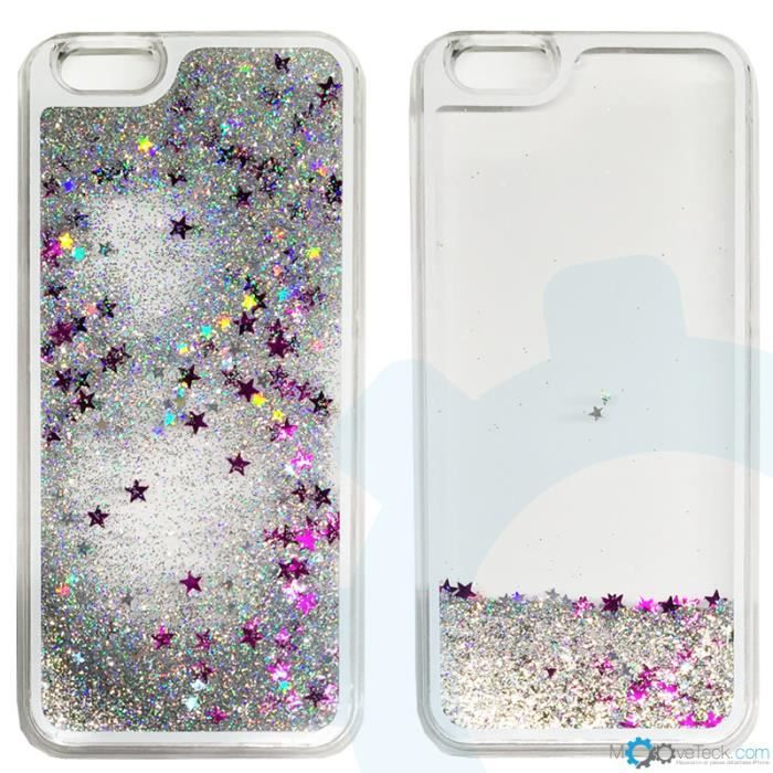 coque paillette liquide iphone 6