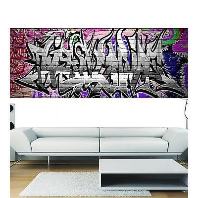 Sticker t te de lit d coration murale graffiti r f 3674 5 for Tete de lit murale