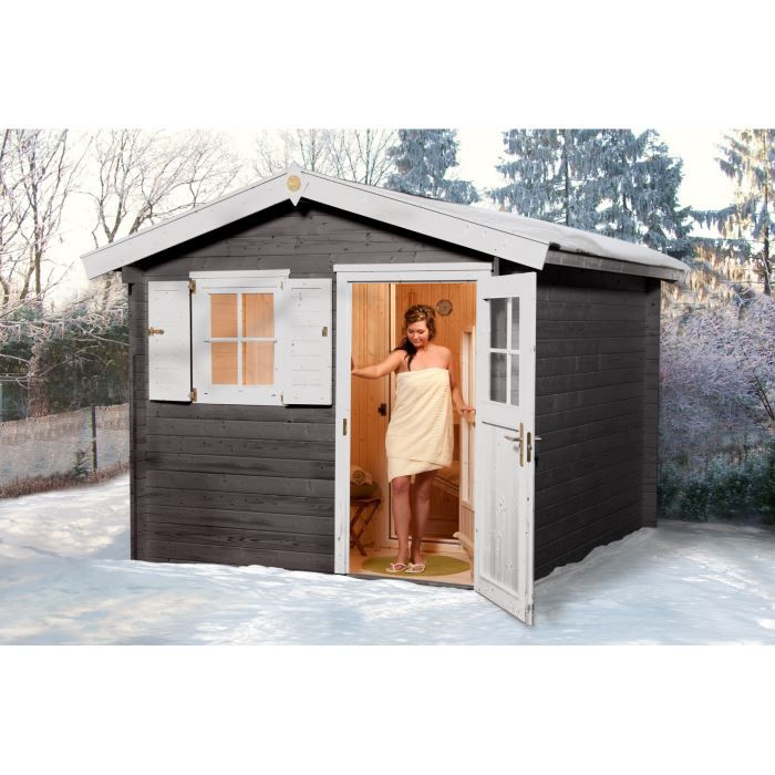 sauna vapeur ext rieur mikkeli 2 weka achat vente kit sauna sauna vapeur ext rieur mikk. Black Bedroom Furniture Sets. Home Design Ideas