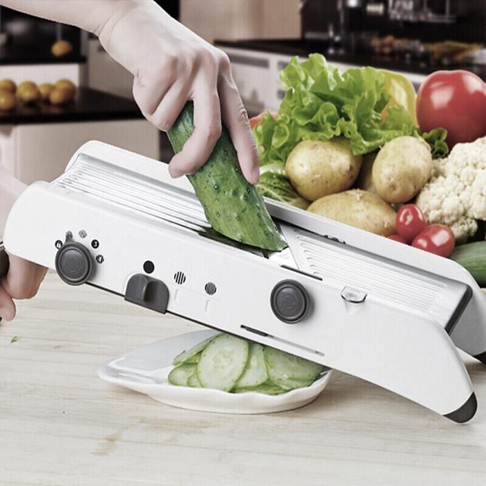 Jeobest Mandoline De Cuisine Mandoline Legumes Reglable