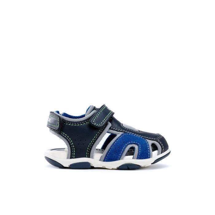diseñador atravesar eslogan  GEOX Sandales Bleu Marine AGASIM Bébé Garçon - Achat / Vente sandale -  nu-pieds - Cdiscount