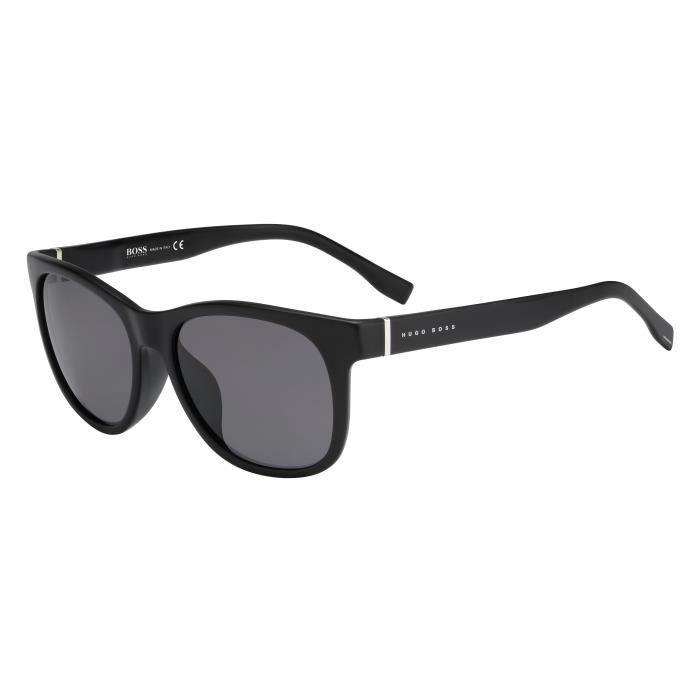 Hugo Boss lunettes de soleil polarisées marron avec noir fibre de carbone 0859 PTO