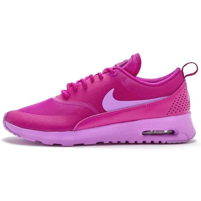 autumn shoes new york best sneakers Nike Air Max Thea Baskets femme - Fuchsia Flash et Glow 599409 502 ...