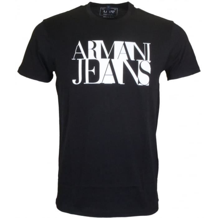 T-SHIRT TEE SHIRT ARMANI JEANS HOMME