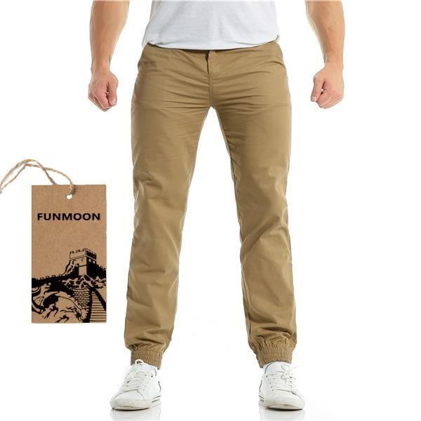 pantalon homme fuselé