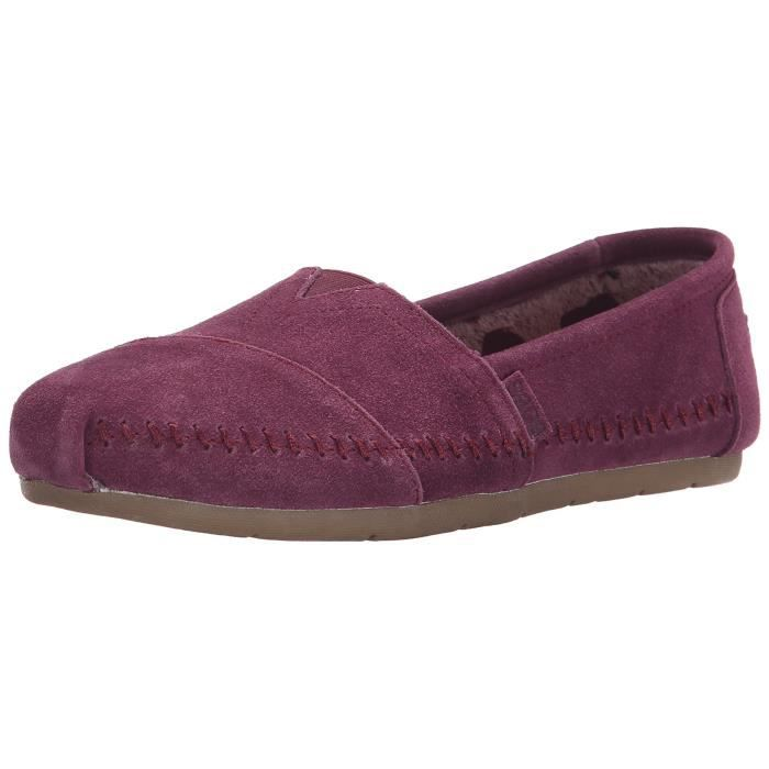 Slip Luxe Plat on Tfoes 1 Bobs 2 Mode Taille Skechers 36 q35RjA4L